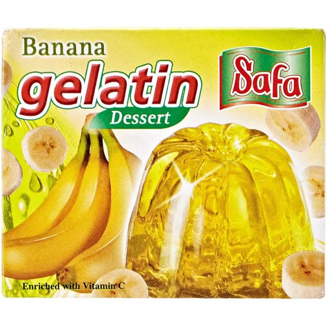 JELLY POWDER - BANANA 75 Grams ( 48 Pieces Per Carton )