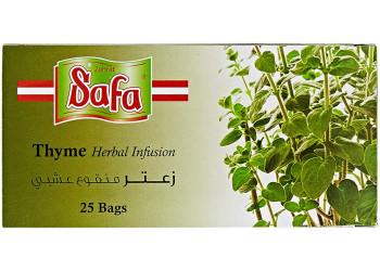 THYME TEA BAGS (ZAATAR) 2 Grams ( 25 Pack Per Carton )