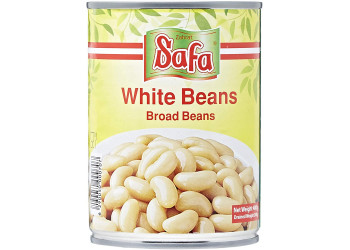 WHITE BEANS (E.O.E) 400 Grams ( 24 Pieces Per Carton )