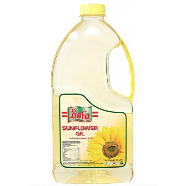 Safa Sunflower Oil 1.8 Ltr. ( 6 Pieces Per Carton )