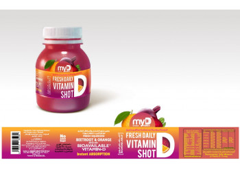 My D Beetroot Orange Juice 120ml