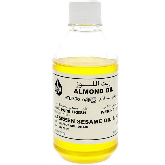 NASREEN ALMOND OIL 250 ML