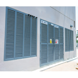 Louvered Doors and Louver Fixed Panels