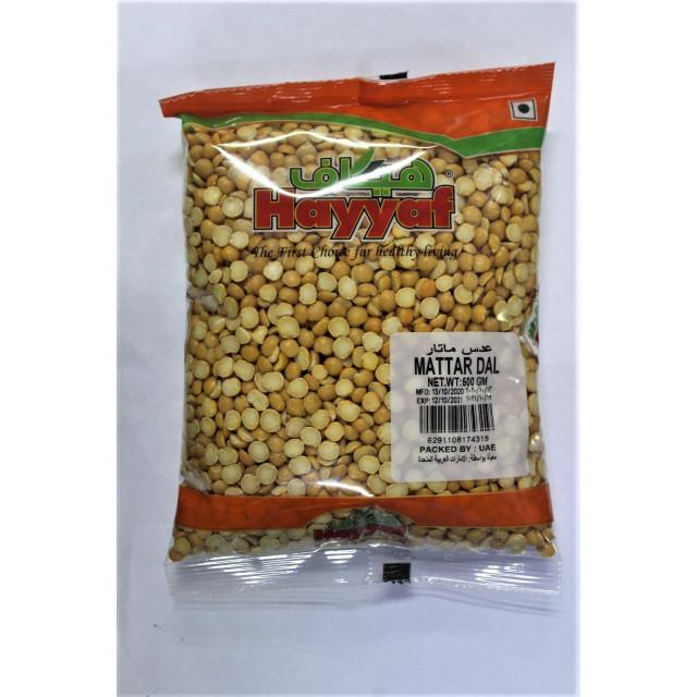Mattar Dal 500 Grams ( 40 Pieces Per Carton )