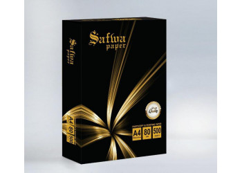 SAFWA PAPER A4 500 sheets X 5 reams per box
