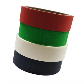 Color Masking Tape 1 Inch X 15 Yards  ( 24 Pieces Per Carton )