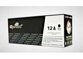 HP 12A Black Compatible LaserJet Toner Cartridge