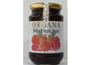 Organa Mixfruit Jam 450 Grams ( 12 Pieces Per Carton )