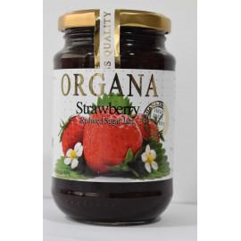 Organa Strawberry Jam  450 Grams ( 12 Pieces Per Carton )