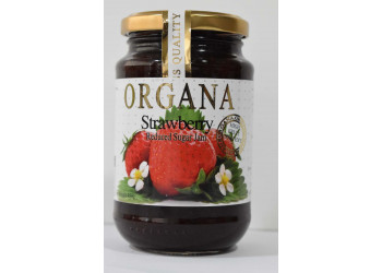 Organa Strawberry Jam  450 Grams ( 12 Pieces Per Carton )