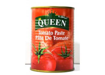 Queen Tomato Paste Tin 400 Grams ( 24 Pieces Per Carton )