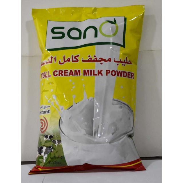 Sano Milk Powder Pouch 2.25 KG  ( 6 Pieces Per Carton )