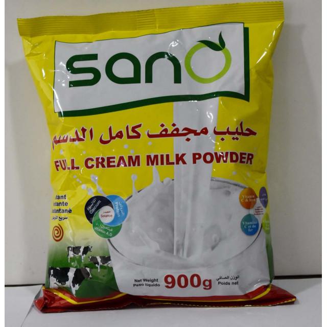 Sano Milk Powder Pouch 900 Grams ( 12 Pieces Per Carton )