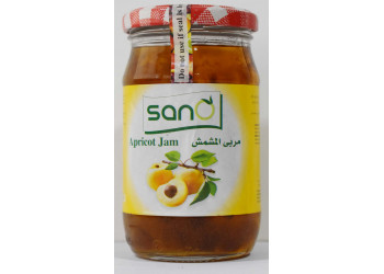 Sano Apricot Jam 370 Grams ( 12 Pieces Per Carton )