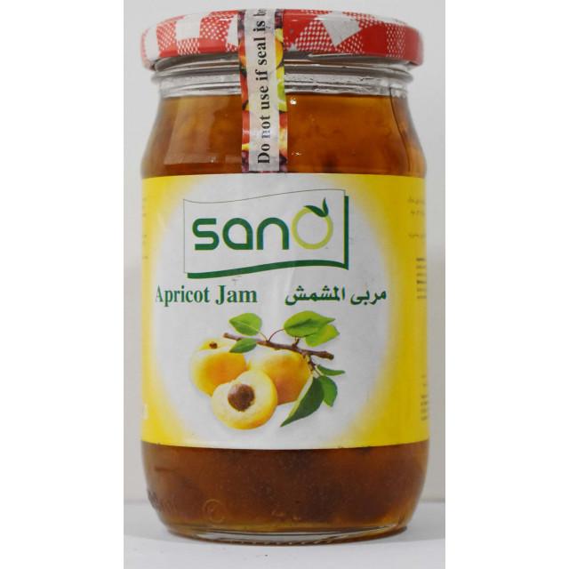 Sano Apricot Jam 370 Grams ( 12 Pieces Per Carton )