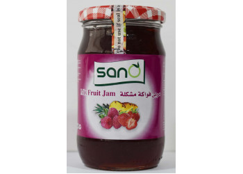 Sano Mixfruit Jam 370 Grams  ( 12 Pieces Per Carton )