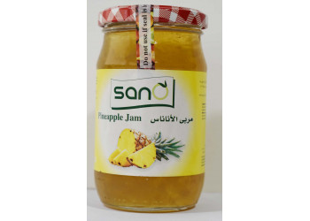 Sano Pineapple Jam 370 Grams ( 12 Pieces Per Carton  )