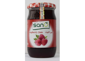 Sano Raspberry Jam 370 Grams ( 12 Pieces Per Carton )