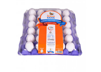SAHA EGGS SMALL WHITE 30s (12 Tray Per Carton )