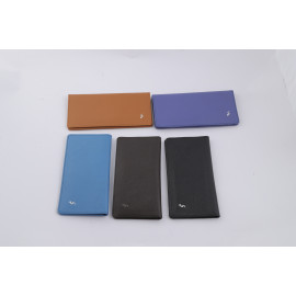 Long Wallet Camel Leather