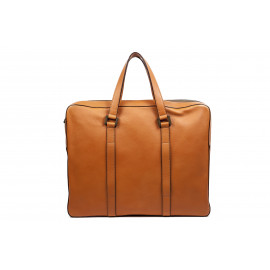 Uptown Carry On Laptop Bag Camel Leather ( Caramel )