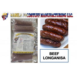 BEEF LONGANISA 430 Grams ( 24 Pieces Per Carton )