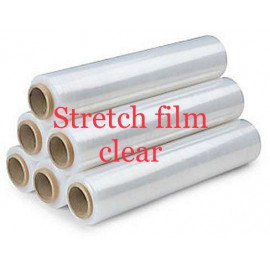Stretch Film Clear ( 6 Pieces Per Carton )