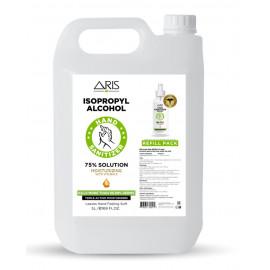Aris Hand Sanitizer 75% IPA 5 Liter  ( 4 Pieces Per Carton )