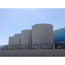 Fire Water Zinc Aluminium Bolted Storage Tanks