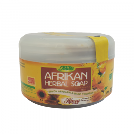 AFRIKAN HERBAL SOAP - HONEY  ( 12 Pieces Per Carton )