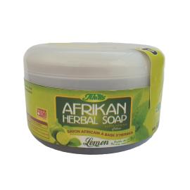 AFRIKAN HERBAL SOAP - LEMON  ( 12 Pieces Per Carton )