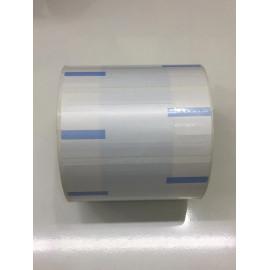 Jewellery Tags – Blue Colour  ( 83 mm x 37 mm )1000 labels per roll 2000 tags per roll