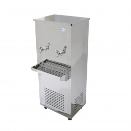 Polar Stainless Steel Water Cooler 25 Gallon, Two Taps