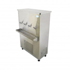 Polar Stainless Steel Water Cooler 85 Gallon, Four Taps