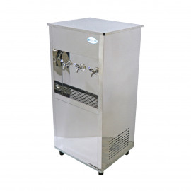 Polar Stainless Steel Water Cooler ATM-45Gallon,Three Taps
