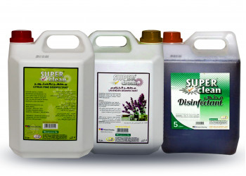 Super clean multipurpose  disinfectant (5L X 1)