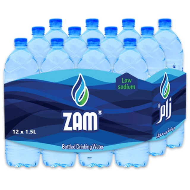 Zam Water 1.5Ltr ( 12 Pieces Per Pack )
