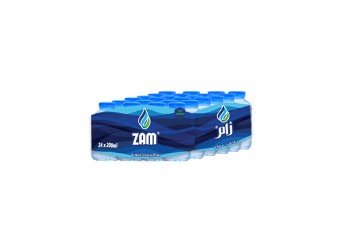 Zam Water 200 ML ( 24 Pieces Per Pack )