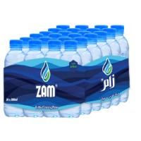 Zam Water 500 ML ( 24 Pieces Per Pack )