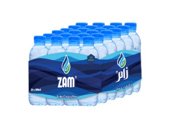 Zam Water 500 ML ( 24 Pieces Per Pack )