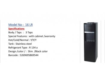 LIWA DRINKING WATER BLACK DISPENSER