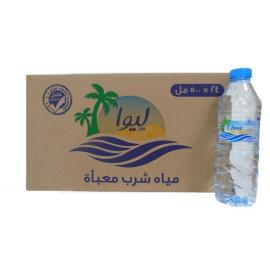 Liwa drinking water 500 ml (  24 Pieces Per Carton )