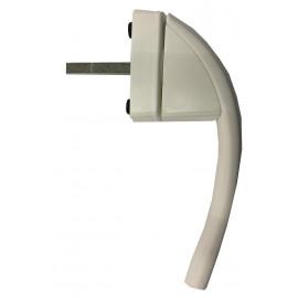 Roto Swing Secustic Window Handle - White
