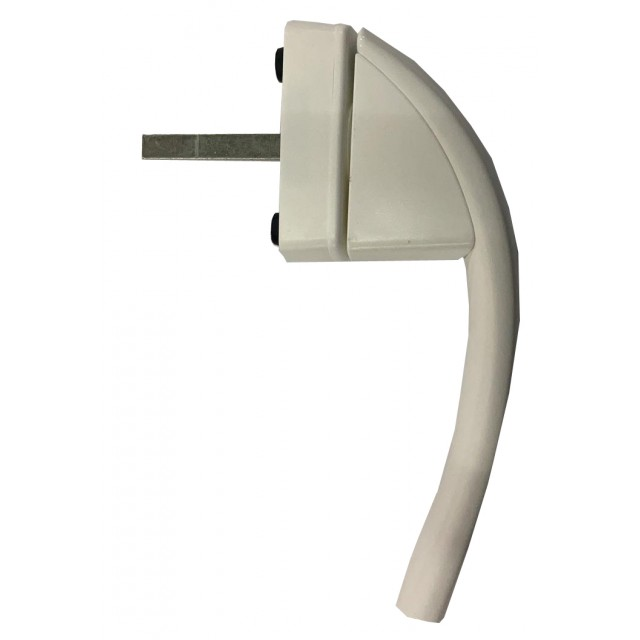 Roto Swing Secustic Window Handle - White