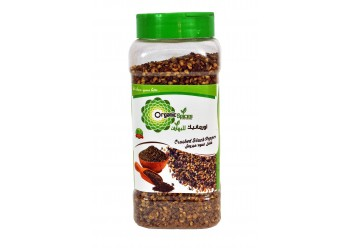 ORGANIC SPICES CRUSHED BLACK PEPPER 250 GMS