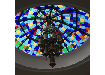 Sky light Stained Glass