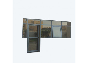 Aluminum and Glass Walls   10.5