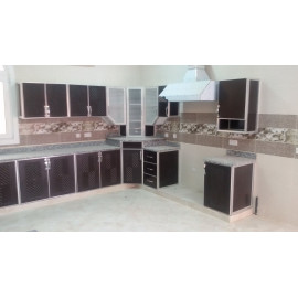 Double HPL kitchen
