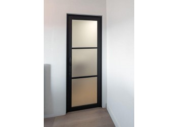 Aluminium Door with Glass
