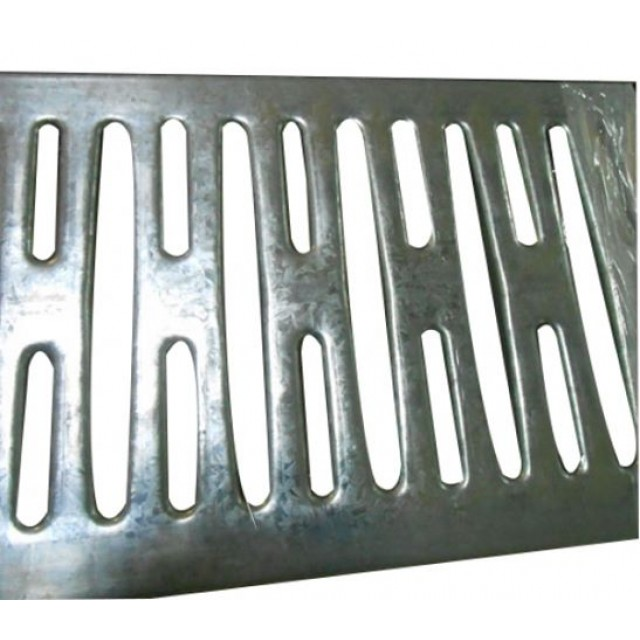Open Steel Plank